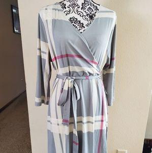 Lularoe Michelle wrap dress XLarge